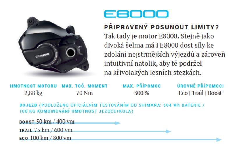 motor shimano e8000