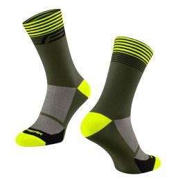 ponozky_force_streak_zeleno-fluo